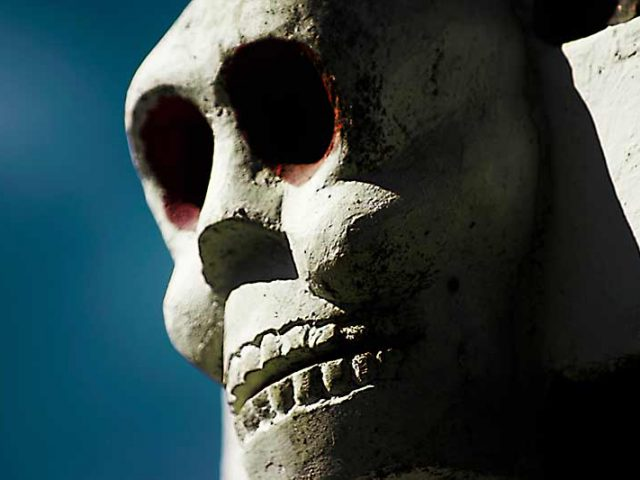 Laughing Skull of Life & Death