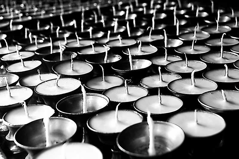 nepal_unlit-wishes-of-butter-oil-lamps_loxley-browne-photography